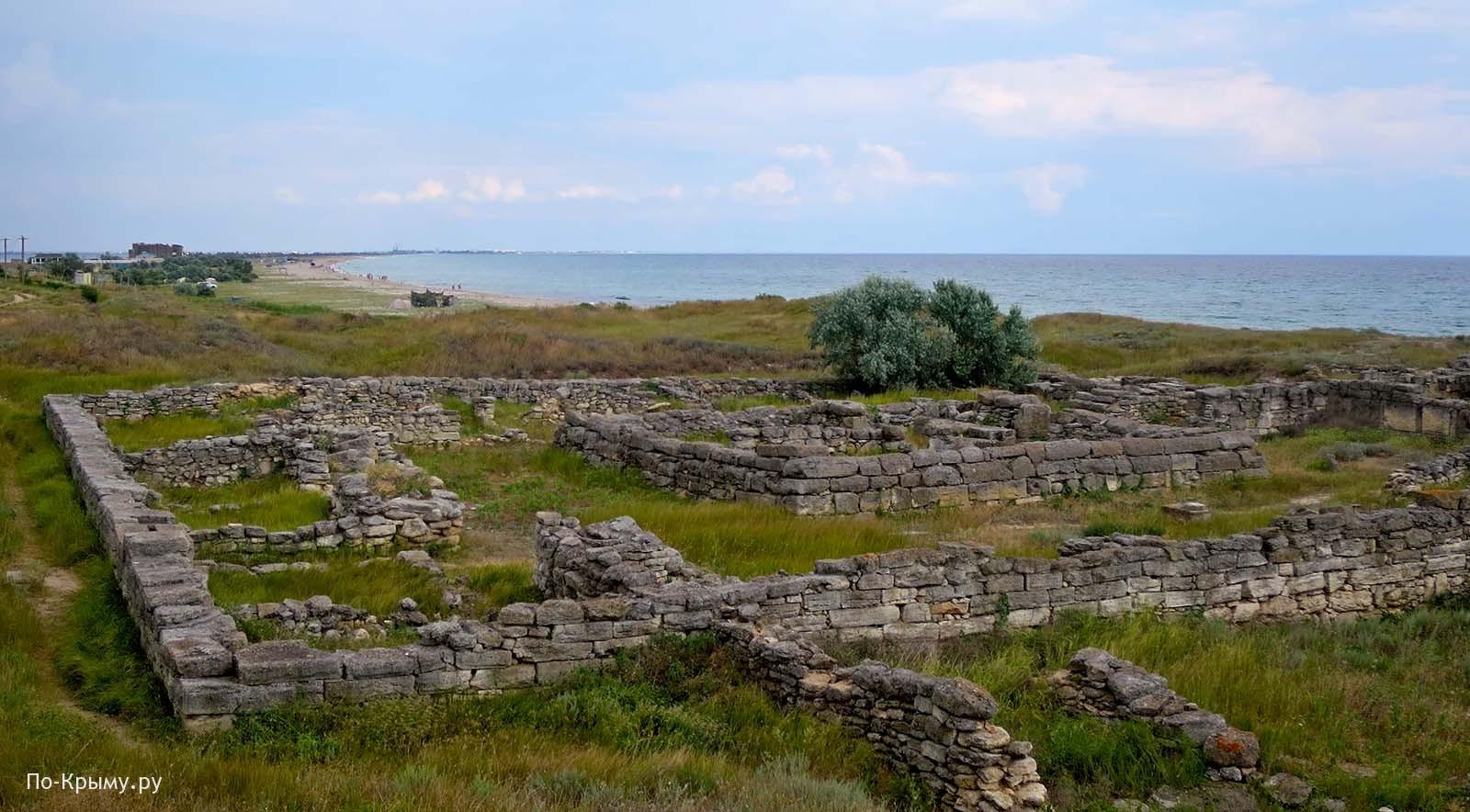 Античное городище Беляус, основная крепость