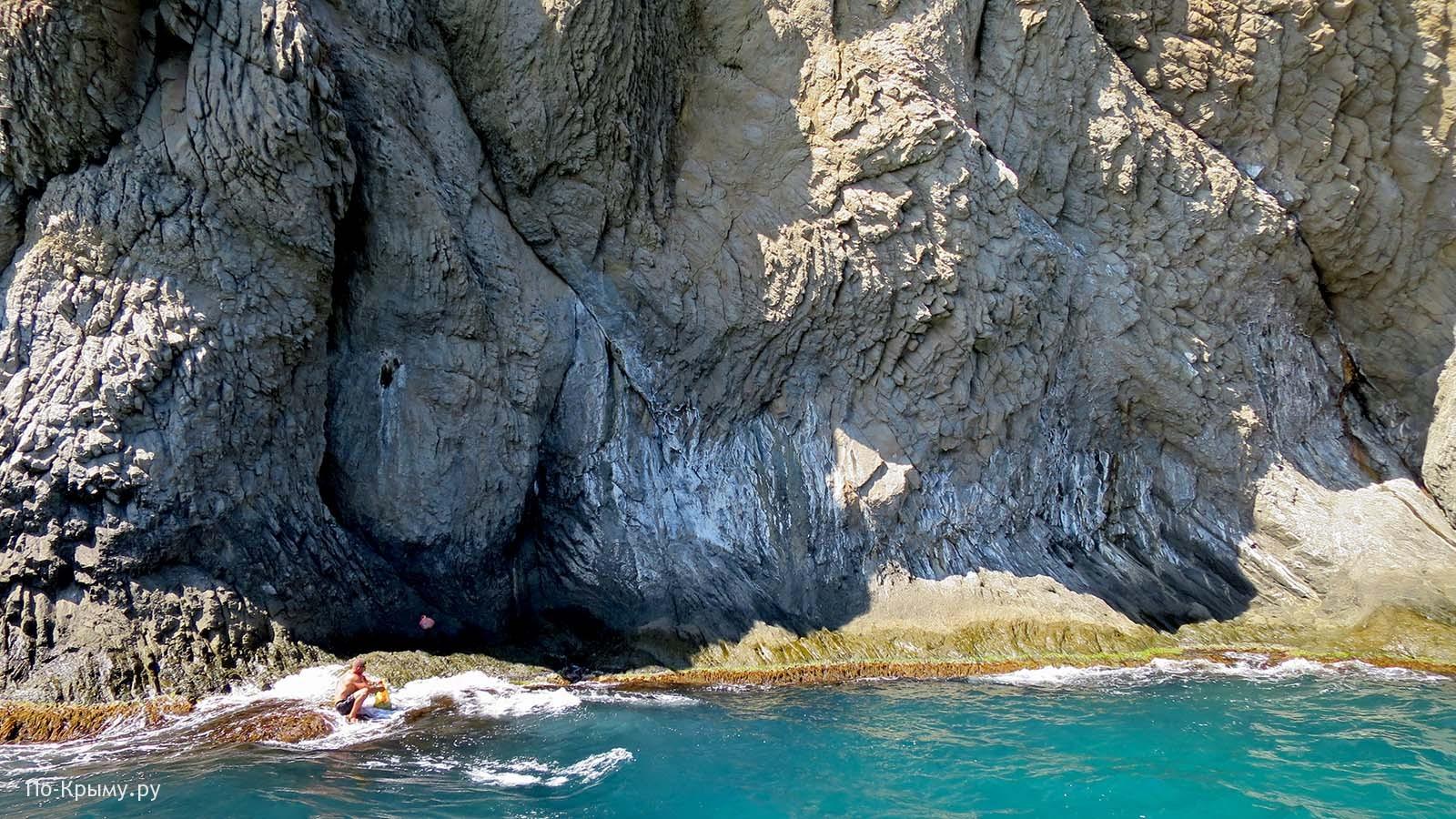 Карадагский заповедник, экскурсия по морю