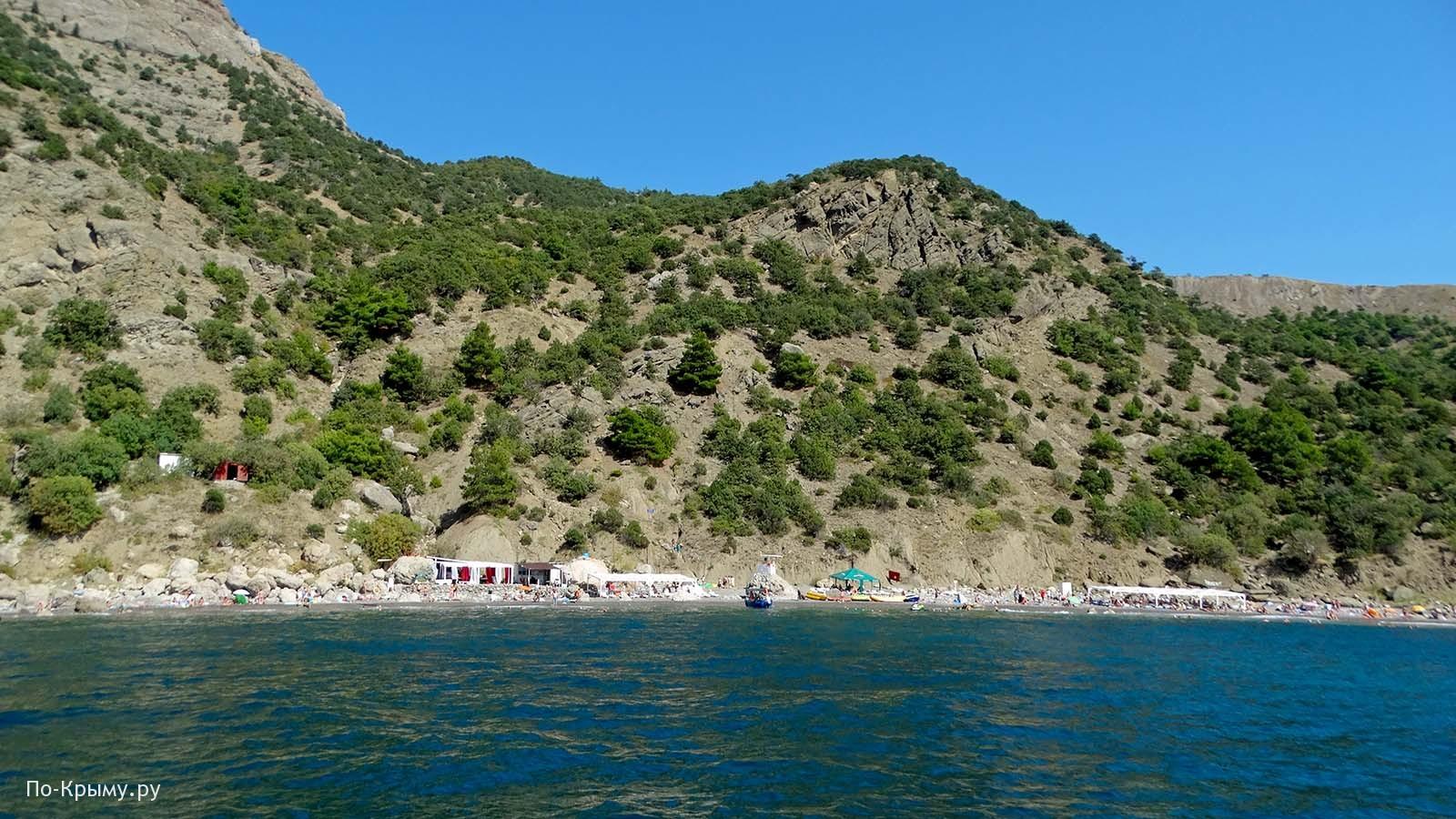 Серебряный пляж, Крым, Балаклава