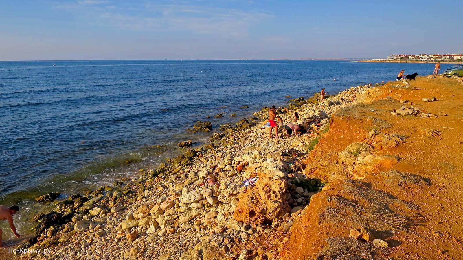 Мыс Восточный - дикий пляж у Солдатского