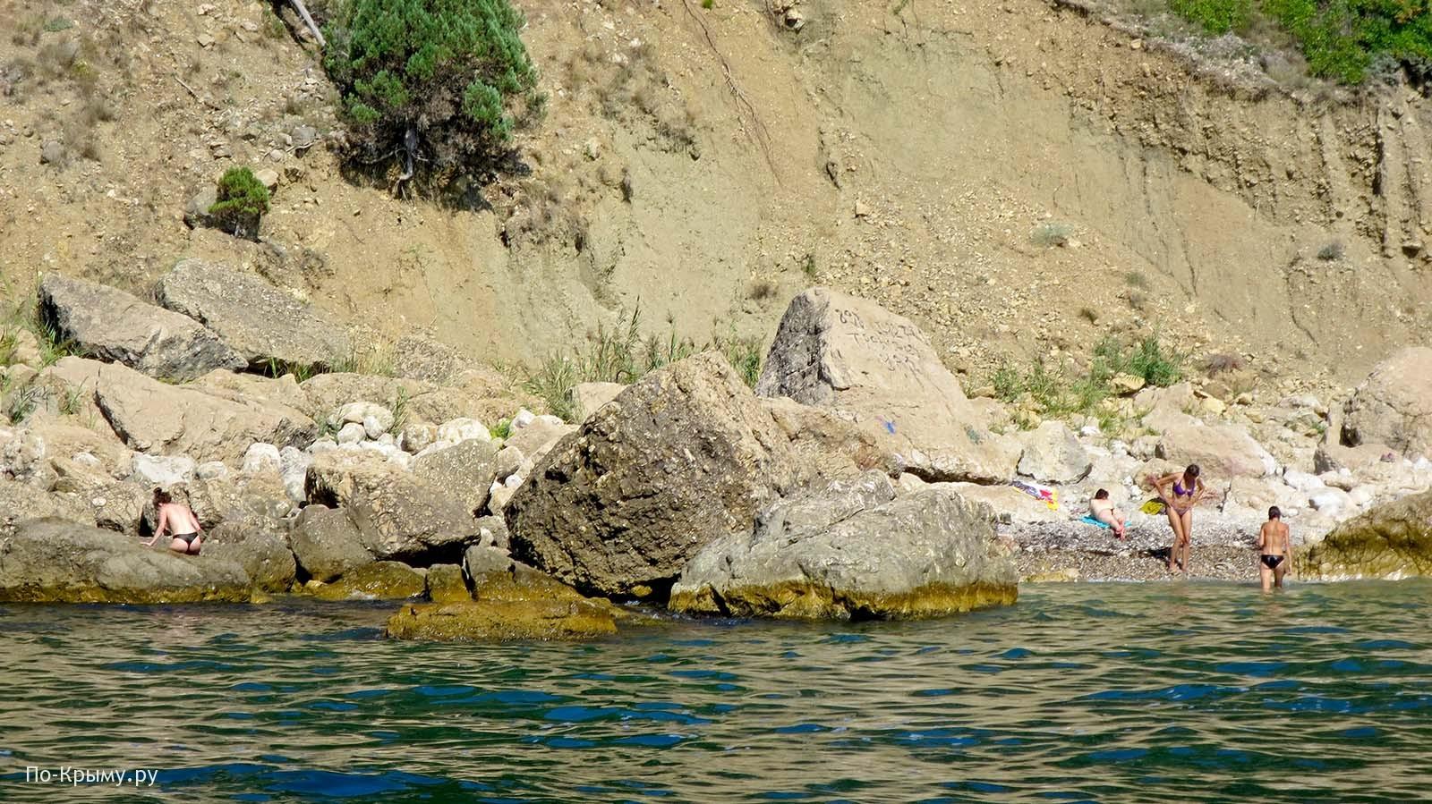 Нудистский Кабельный пляж, Балаклава
