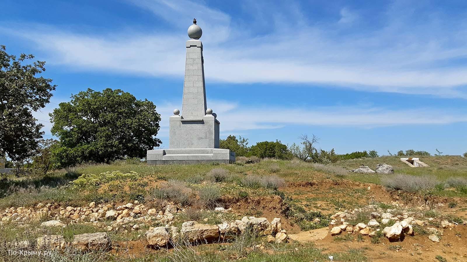 Памятник Инкерманскому сражению на Суздальских высотах