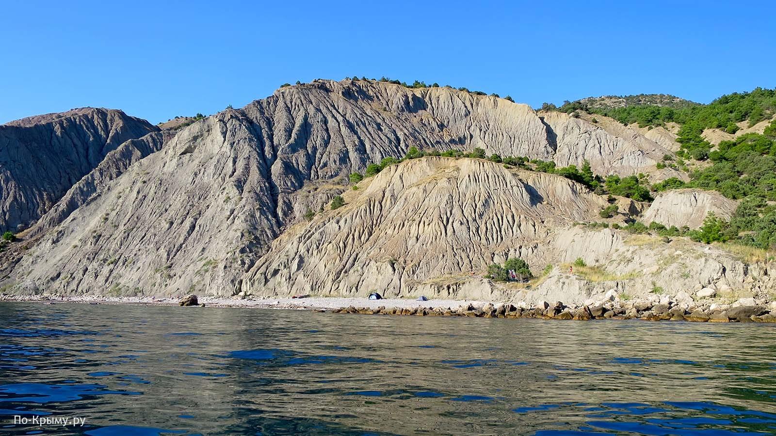 Голый пляж у Балаклавы