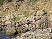 Балаклава. Нудистский пляж