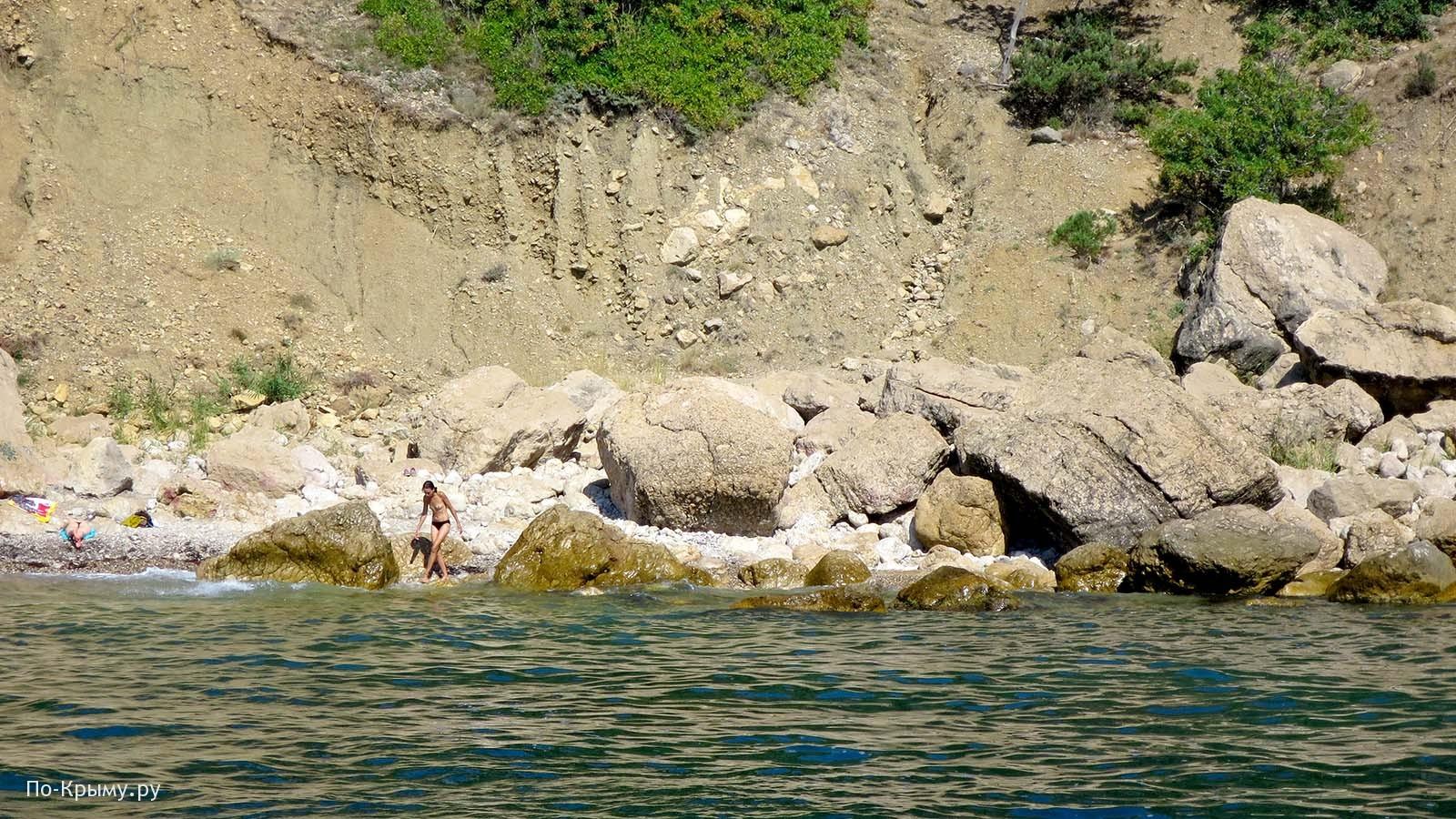 Дикий пляж Кабельный, Севастополь