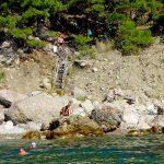 Пляж Блуждающий в урочище Инжир