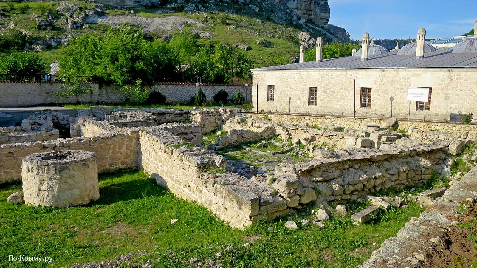 Хамам в историко-археологическом комплексе Салачик