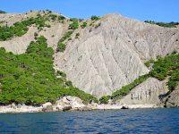 Балаклавский пляж Серая скала