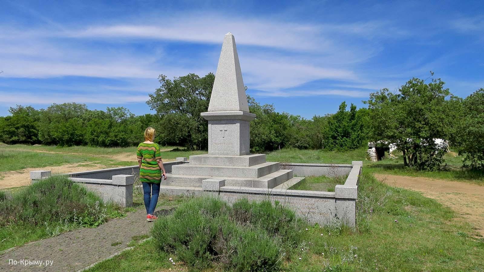Суздальские высоты, памятник британцам