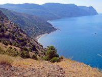 Горная тропа от Балаклавы к Серебряному пляжу