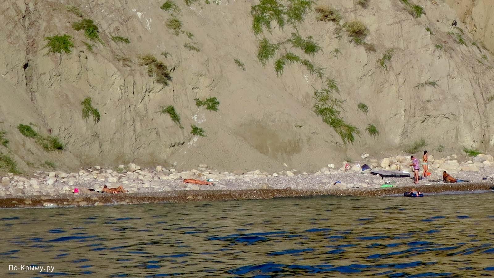 Нудисты на Голом пляже под Балаклавой, Севастополь