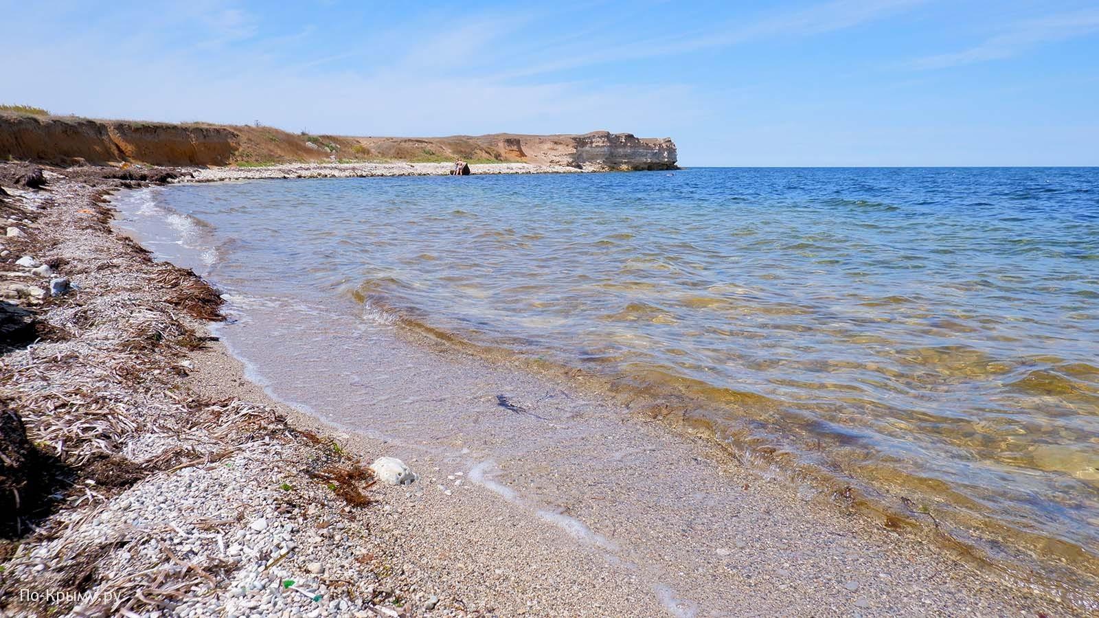 Бухта Ветренная, Западный Крым
