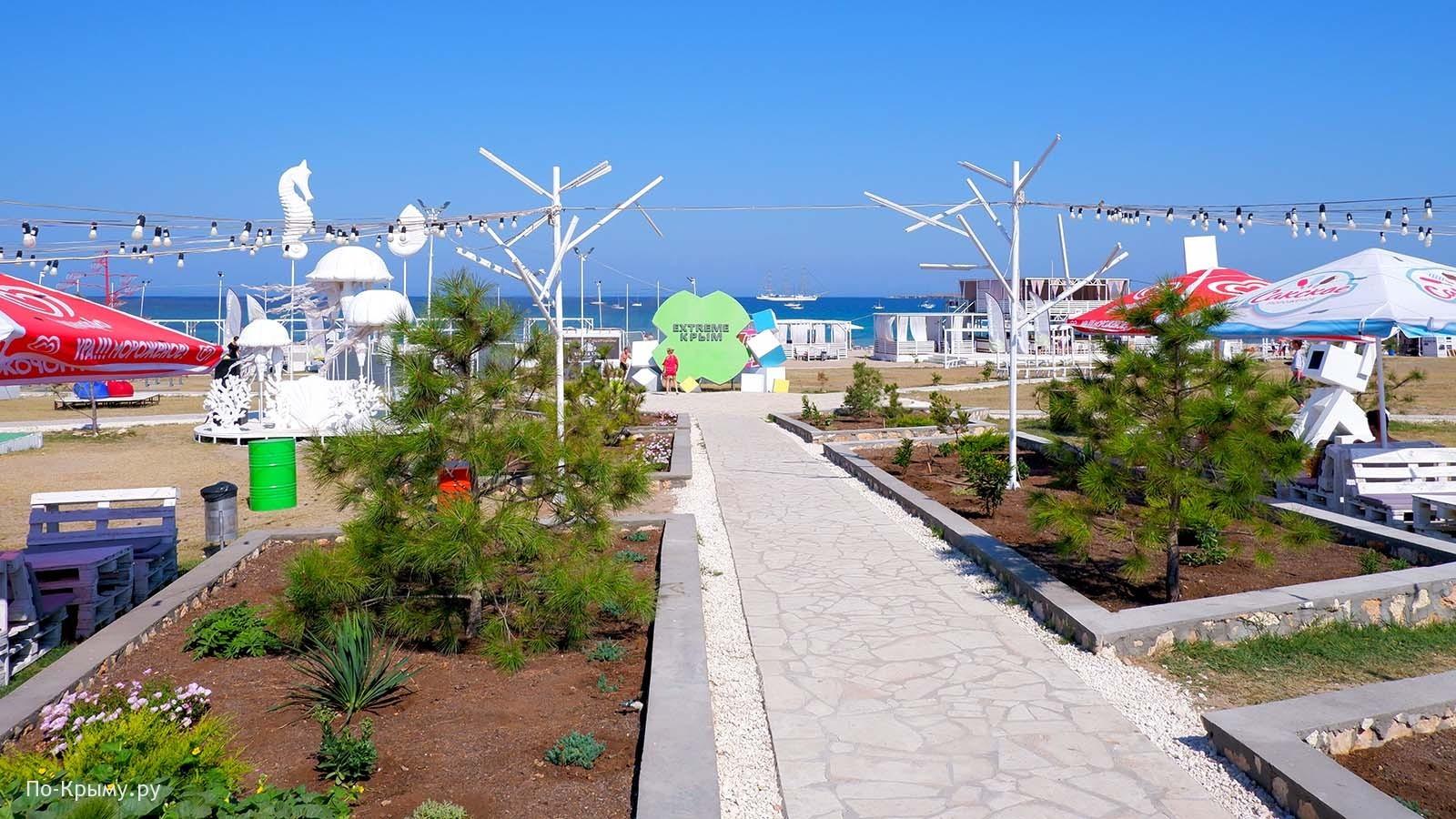 Парк фестиваля «Extreme Крым»