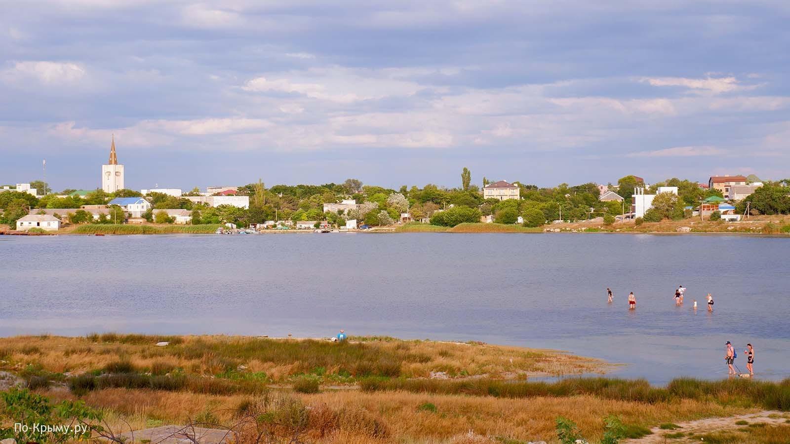 Бухта Узкая, пгт Черноморское, Крым