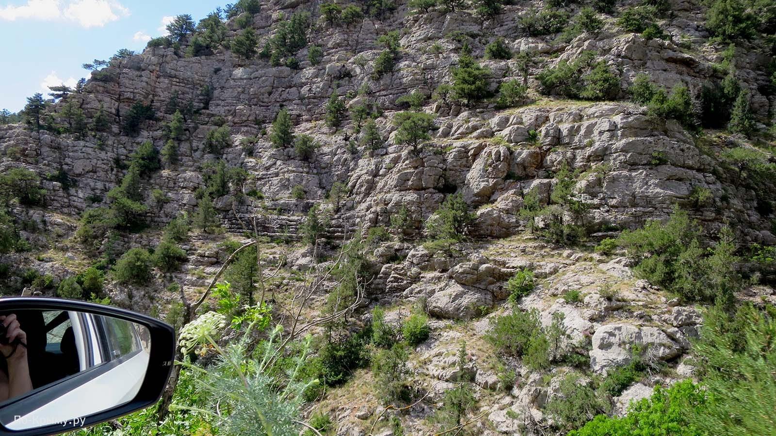 Ущелье Узунджа, Горный Крым