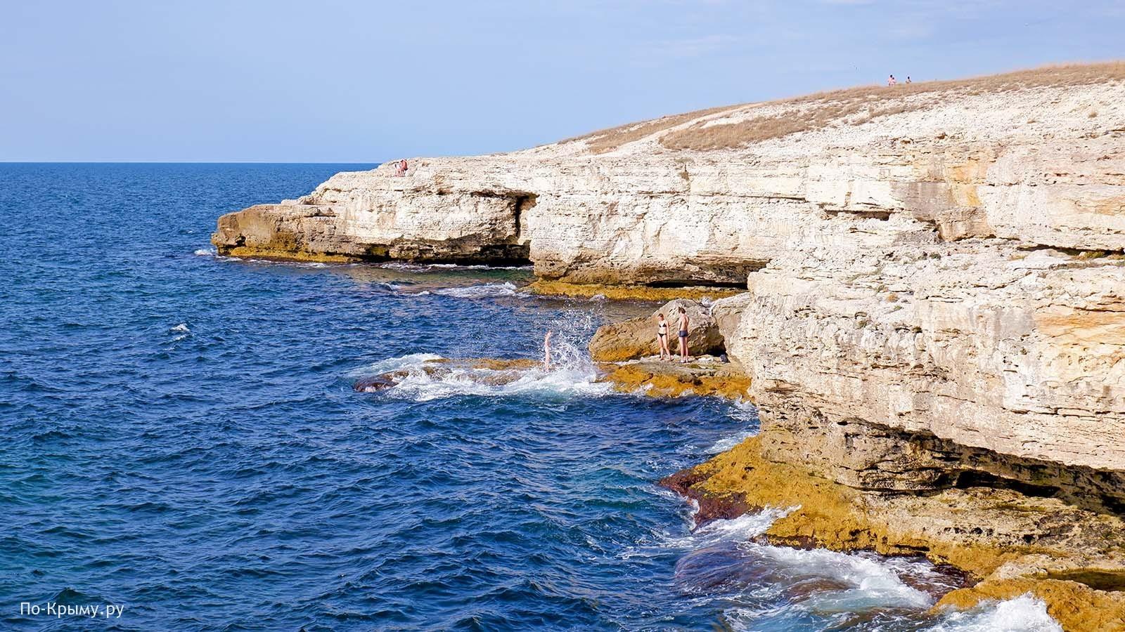 Тарханкутский полуостров, Крым
