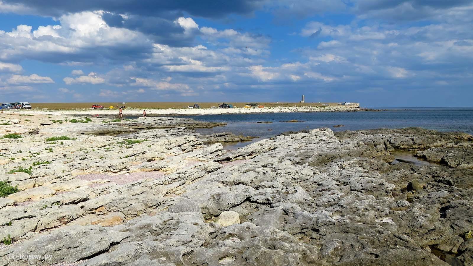 Тарханкутский природный парк, дикие пляжи