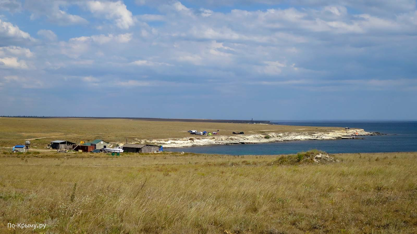 Бухта Убежище, Тарханкут