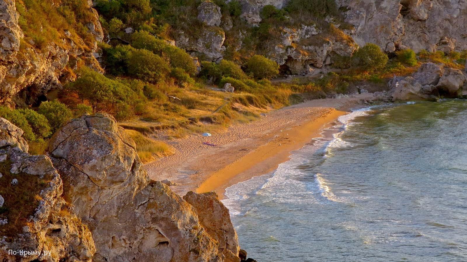 Нудистские пляжи Азовского моря