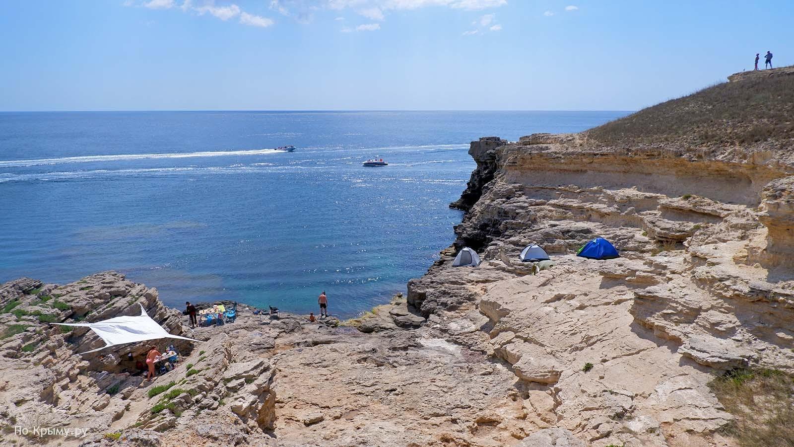 Отдых дикарями на Тарханкутском полуострове