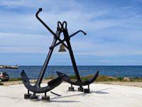 Крым. Памятники морякам