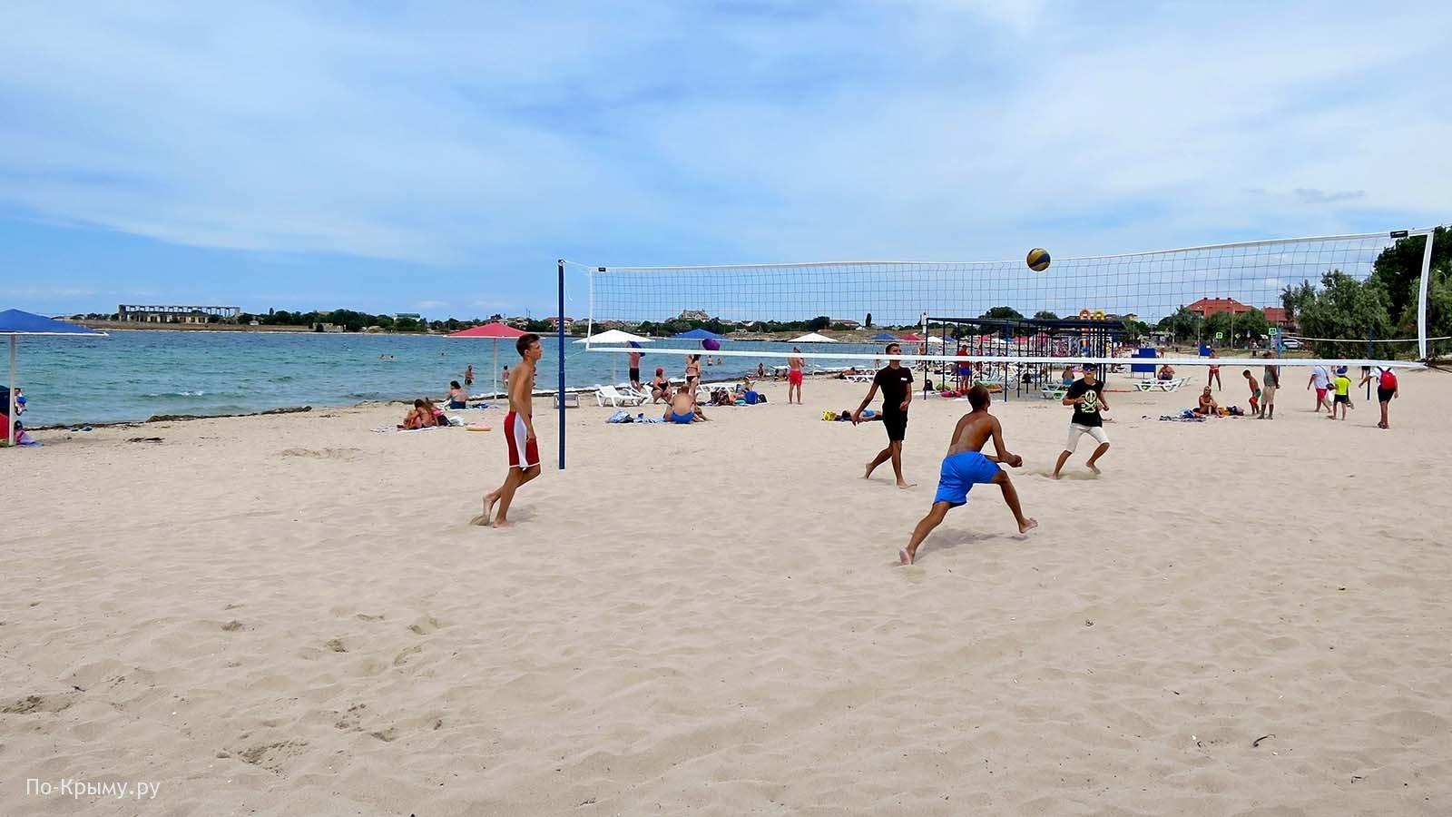 Пляжный волейбол, пгт Черноморское