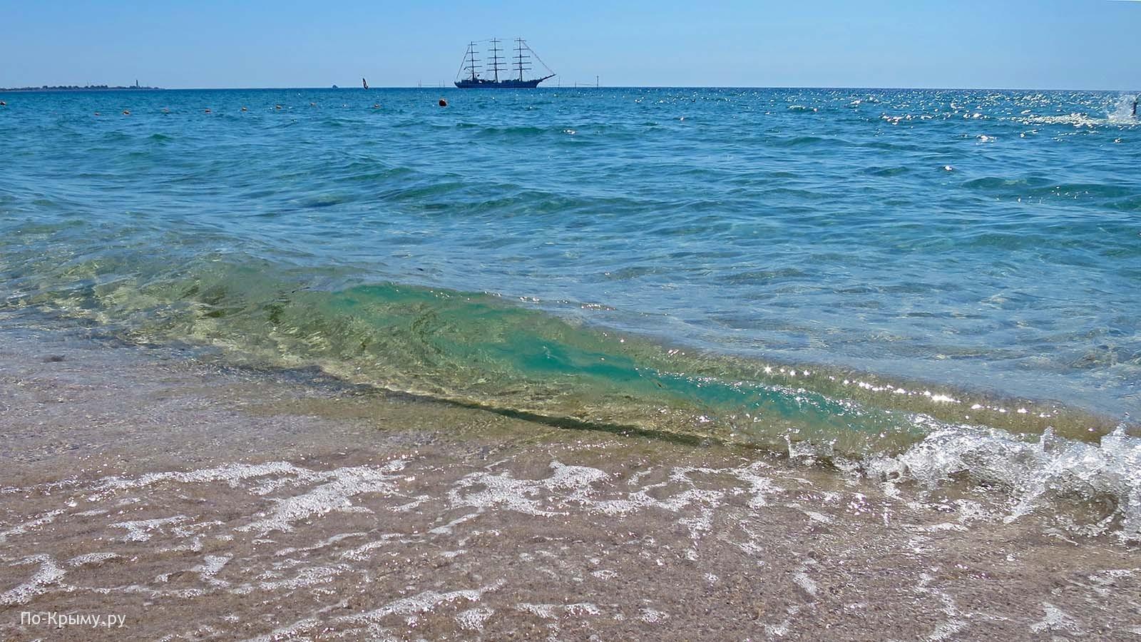 Караджинская бухта, парусник Херсонес