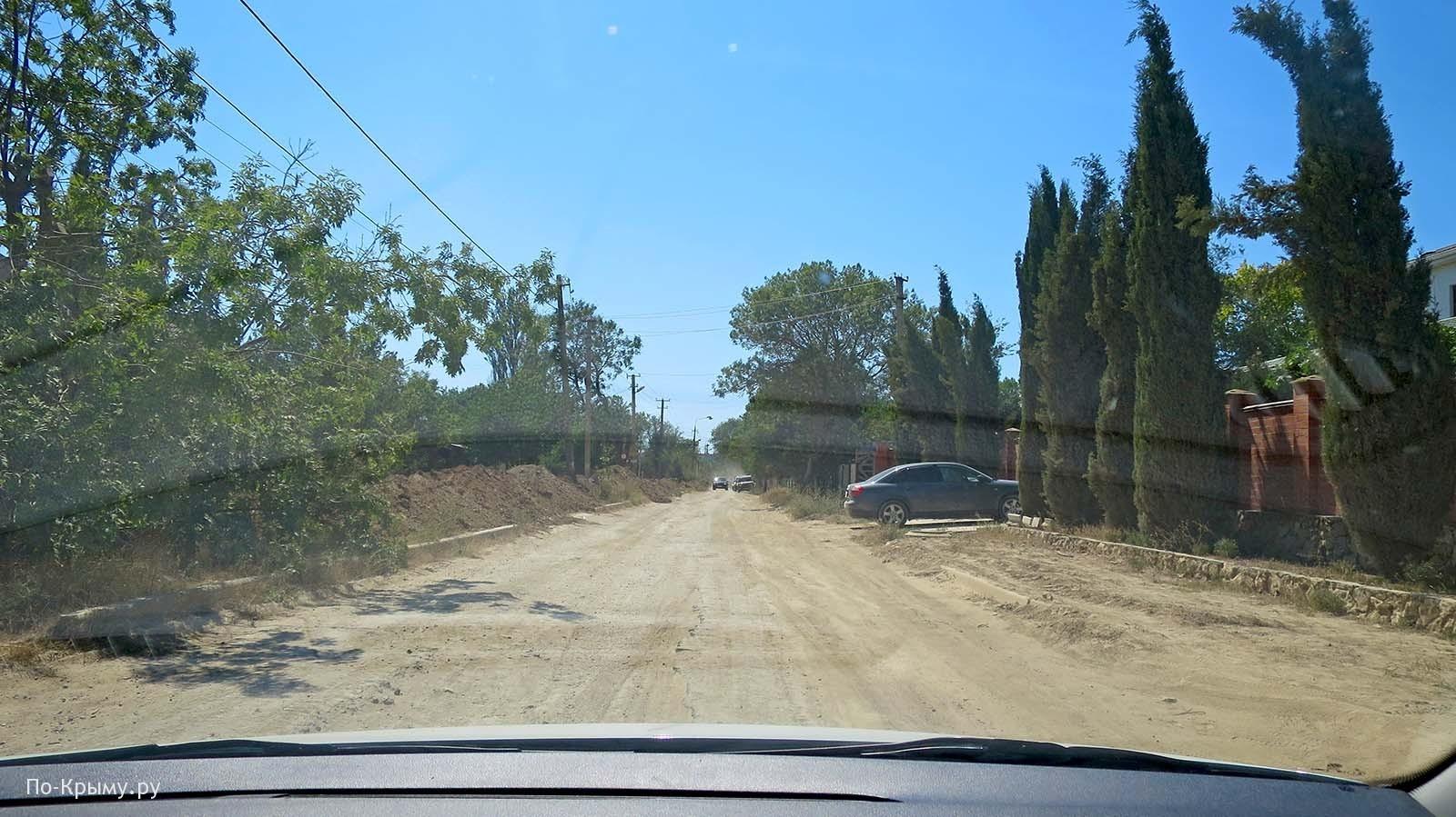 Ремонт дорог в Оленевке