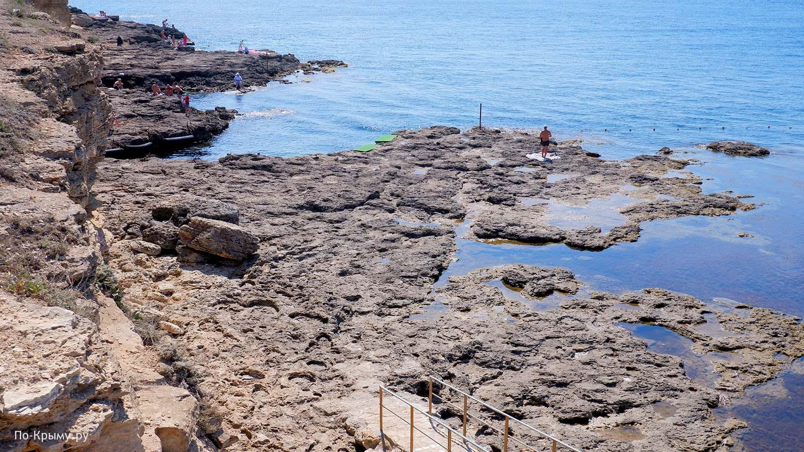 Бухта Любви - одна из достопримечательностей Тарханкута