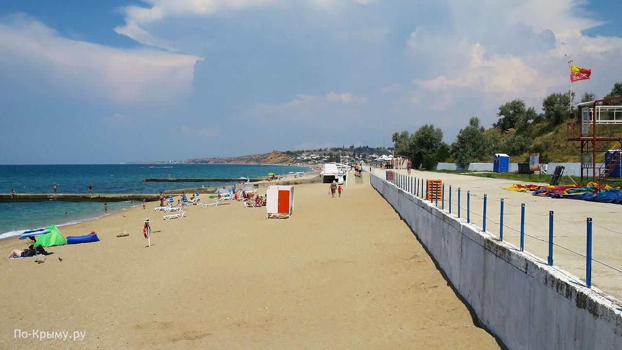 Пляж Бомбей, Крым, Севастополь