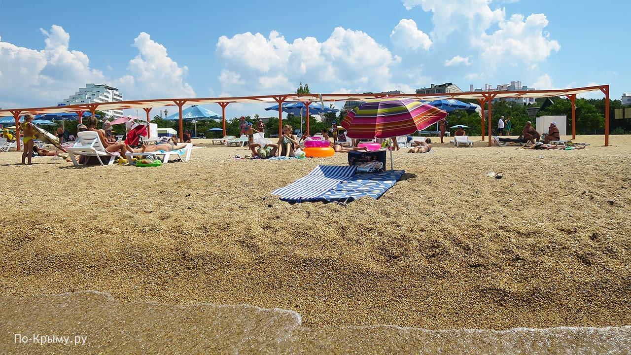 Пляж Дача Мокроусова