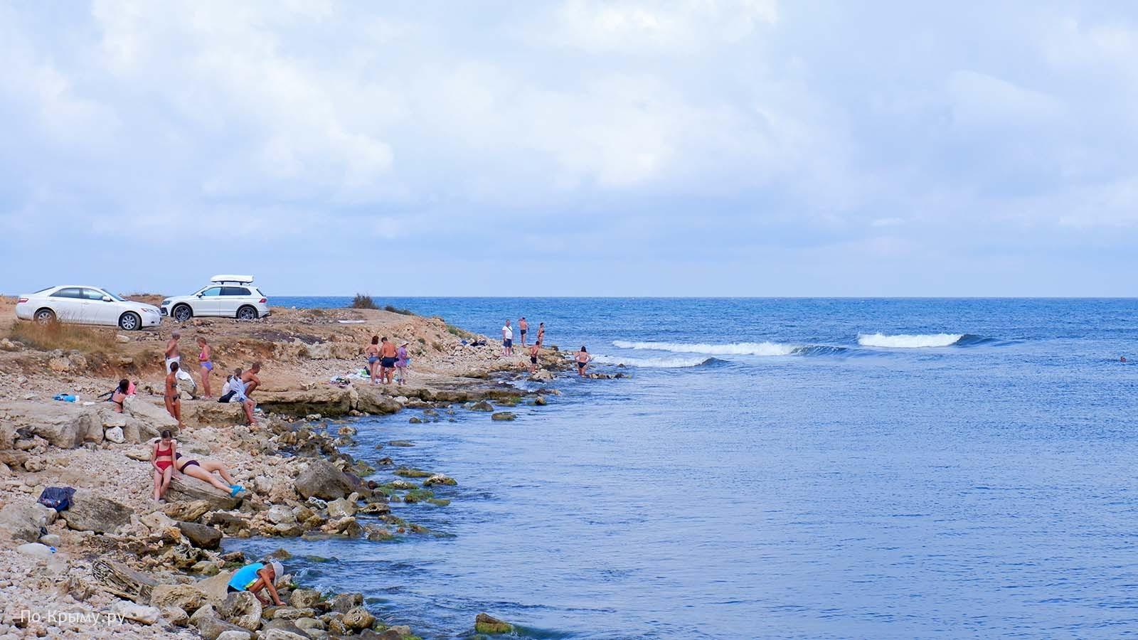 Скалистые пляжи Севастополя