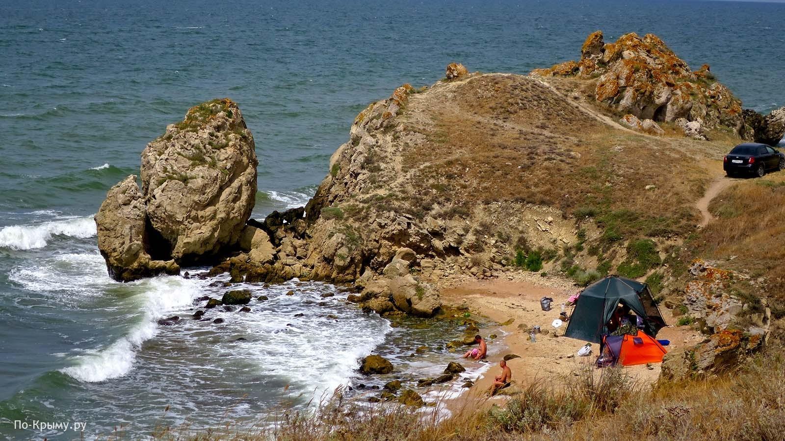 Недорогой отдых в Крыму у моря под Керчью