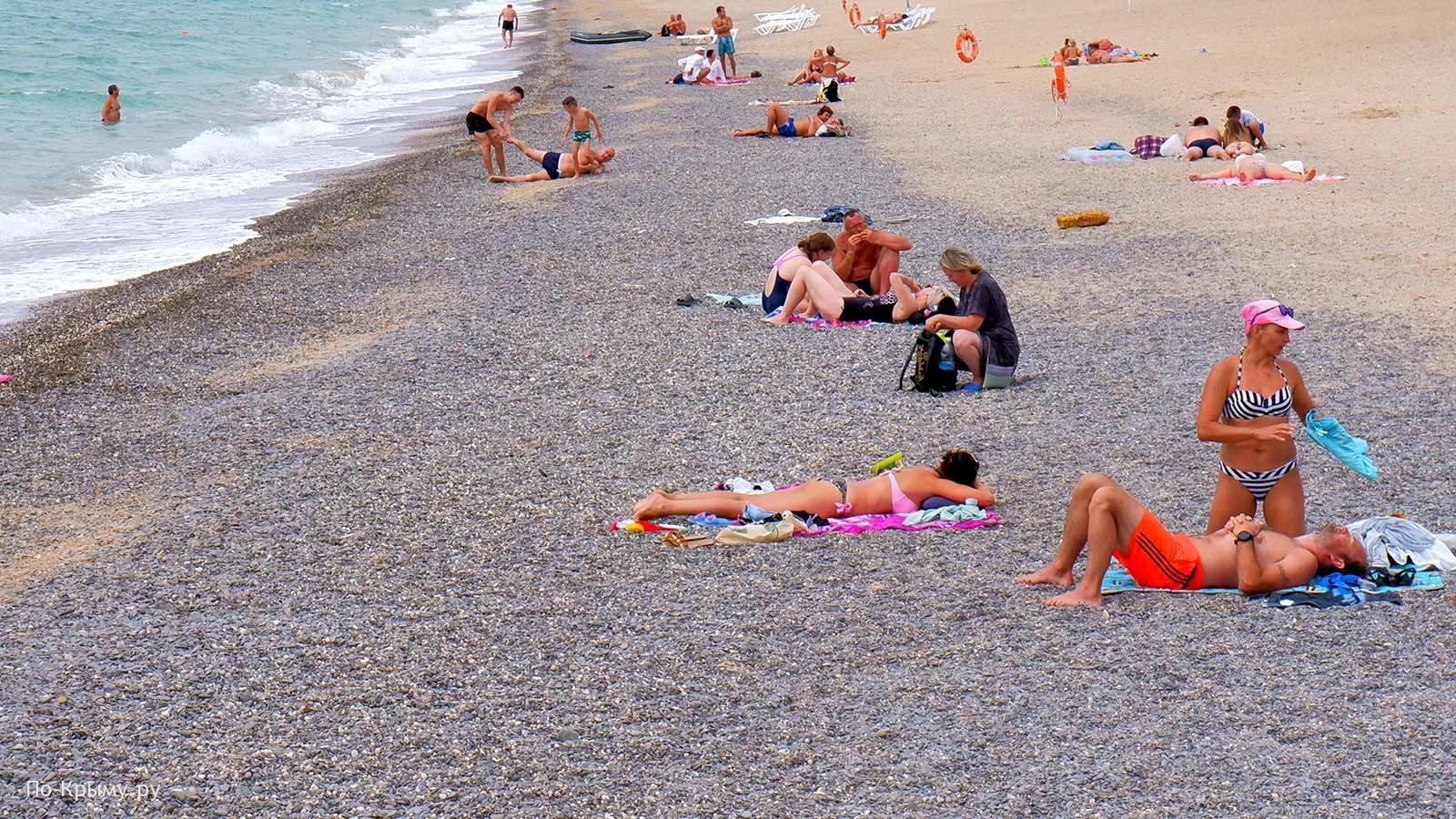 Пляж пансионата Солнечный берег № СА-05