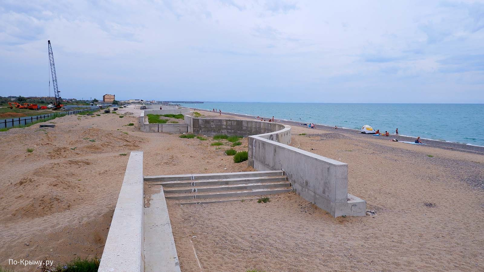 Западный Крым, Сакские пляжи