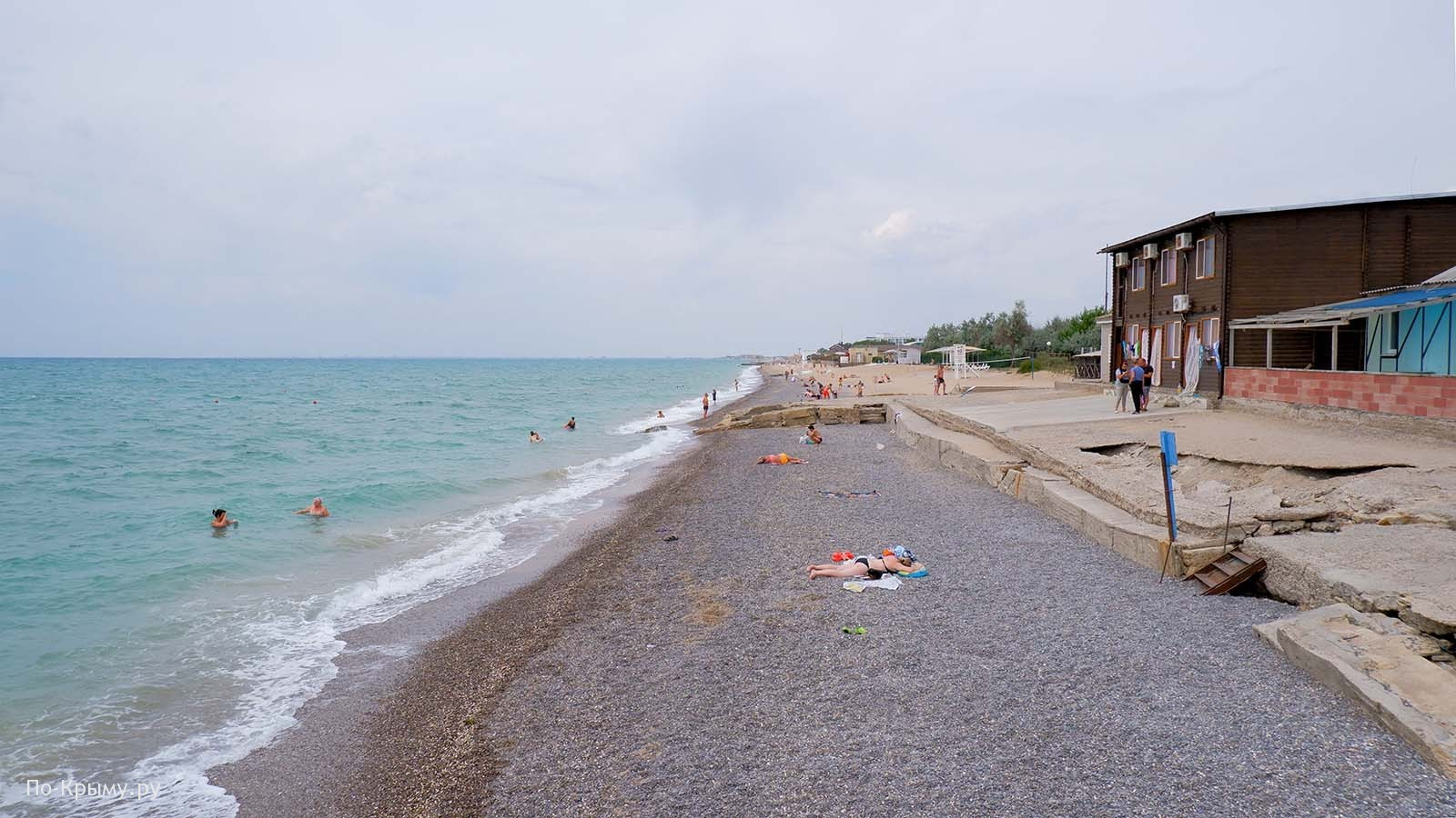 Пляж Rest Royally СА-03, Саки, Крым