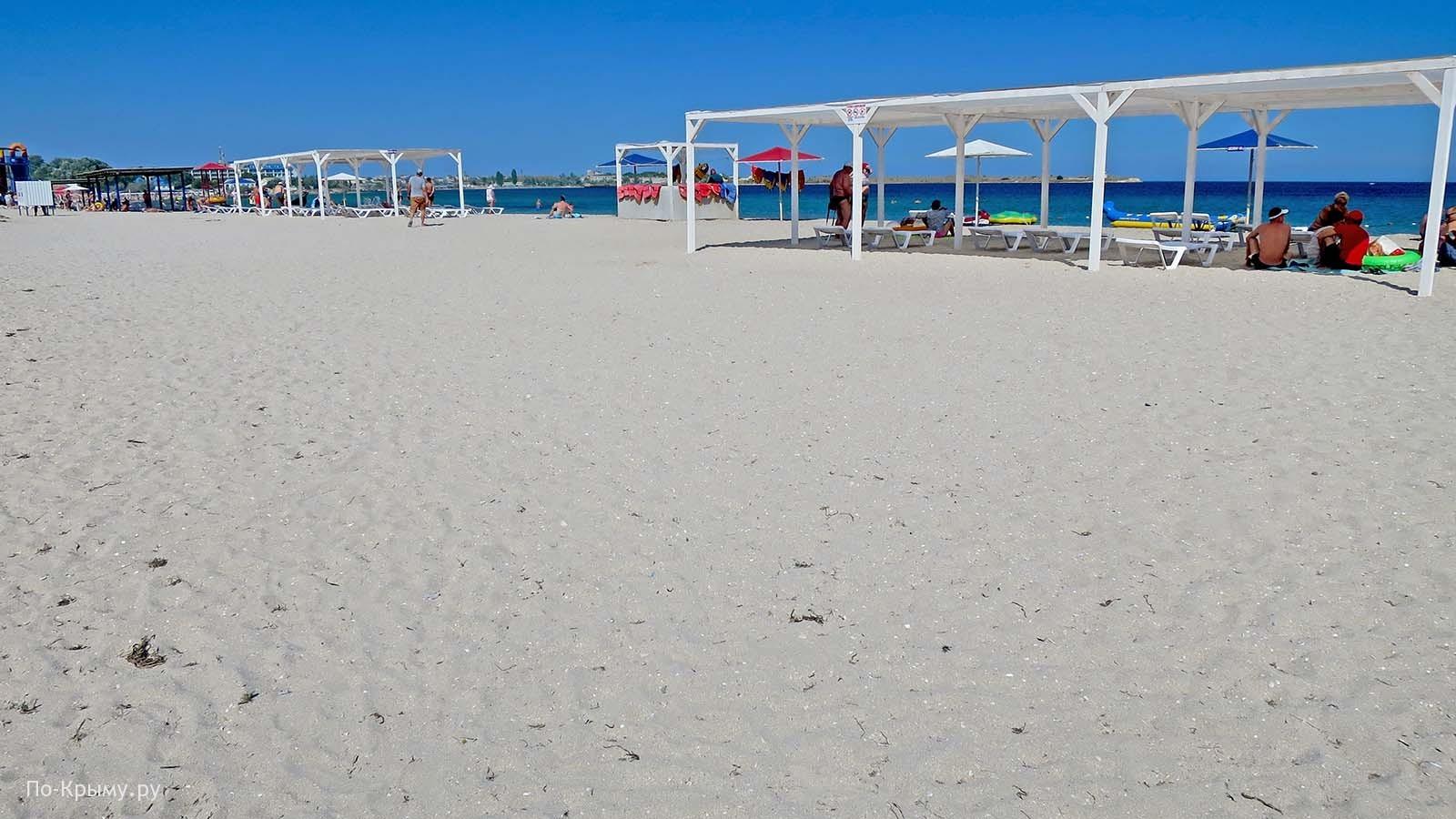 В бухте Узкой, Черноморское, цены на пляжах