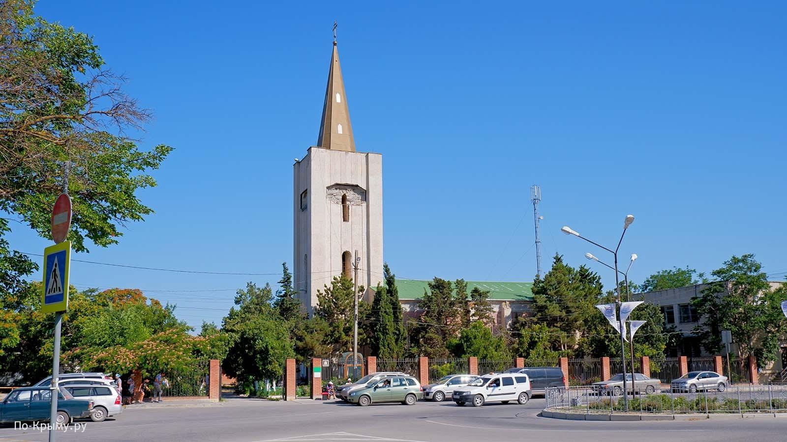 Церковь святых Захария и Елисаветы в Черноморском