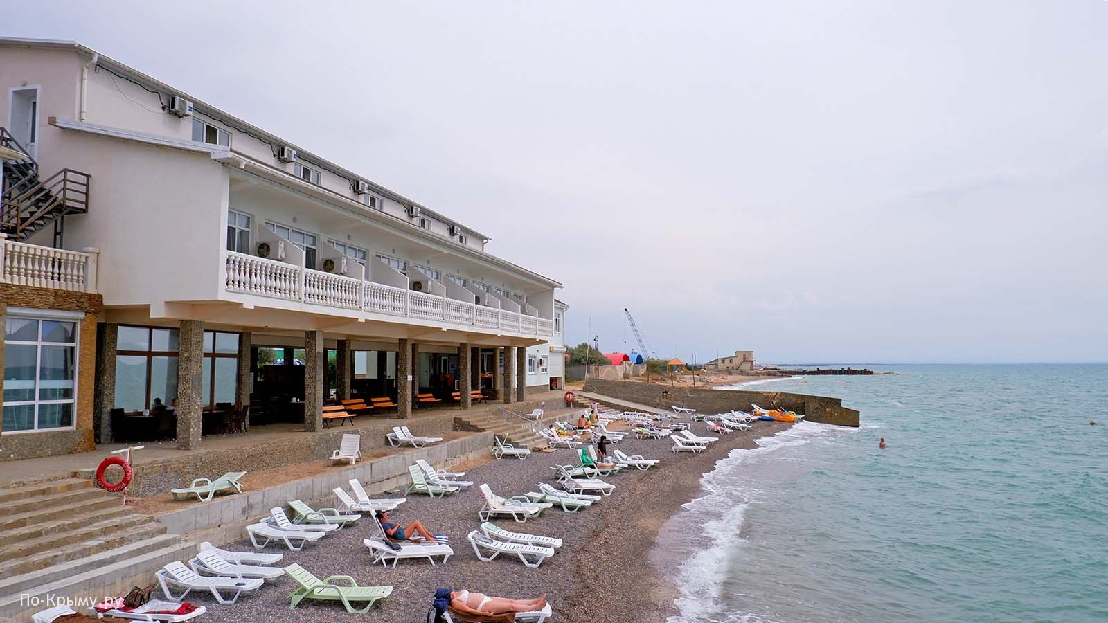 Крым, Саки, пляж Юрмино № СА-02