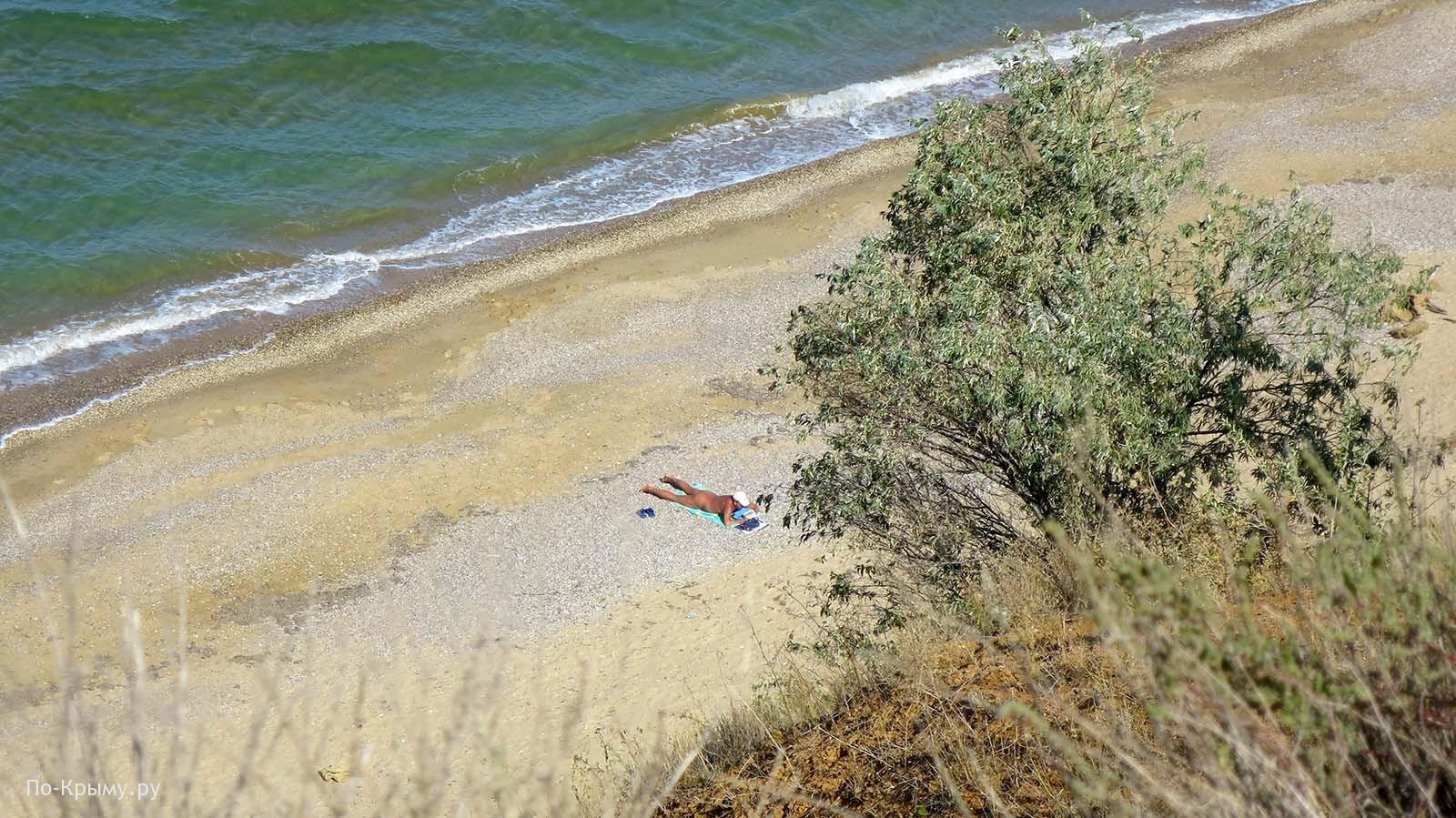 Нудистский пляж у мыса Керменчик, Западный Крым