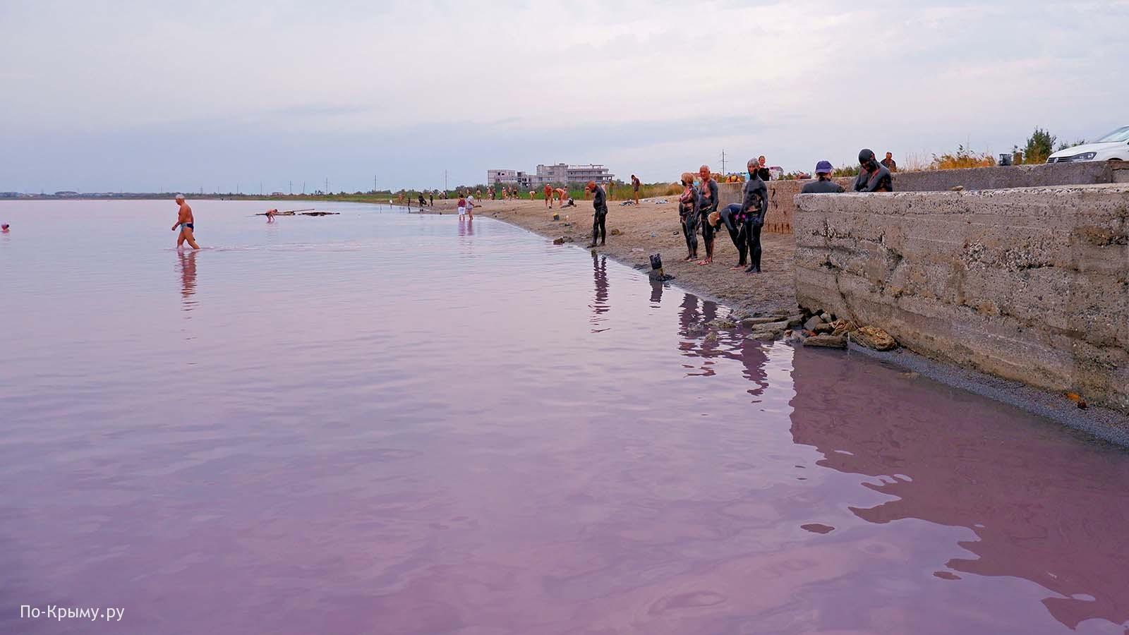 Где в Крыму находится Сакское озеро, как подъехать