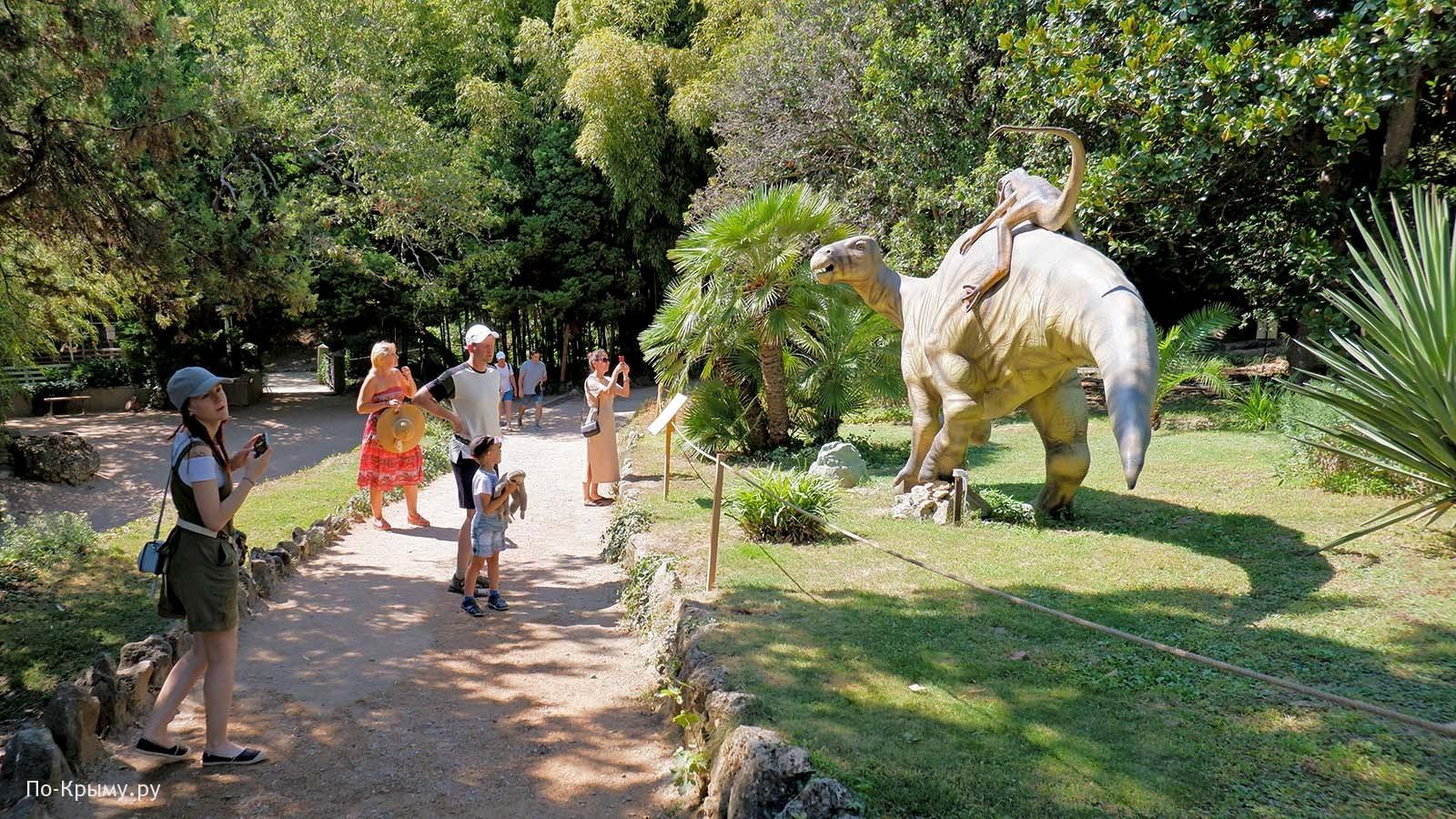 Приморский парк Никитского ботанического сада - динопарк