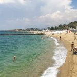 Пляж Горизонт в Севастополе