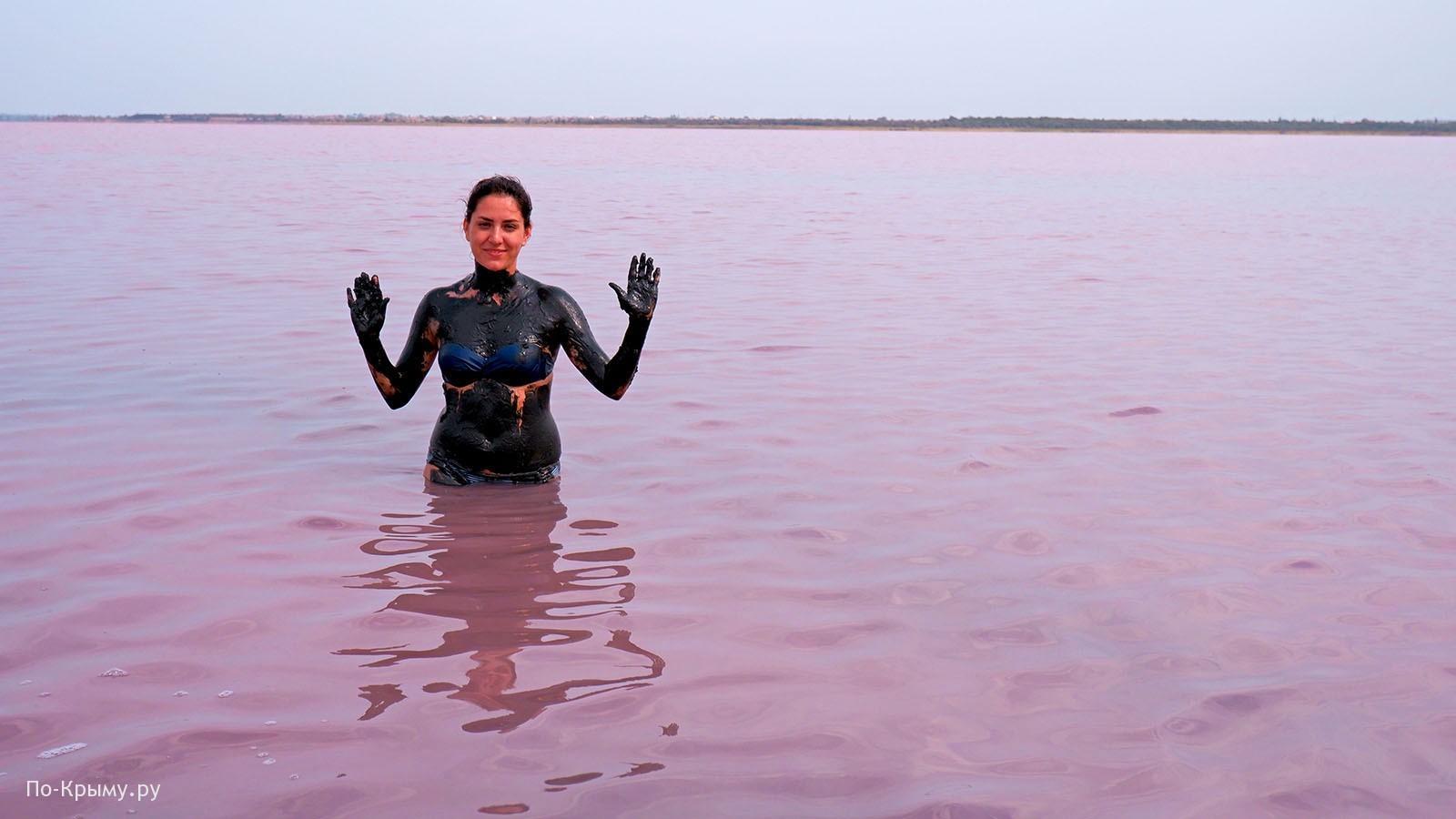 Грязевое Сакское озеро в Крыму - отзывы об отдыхе