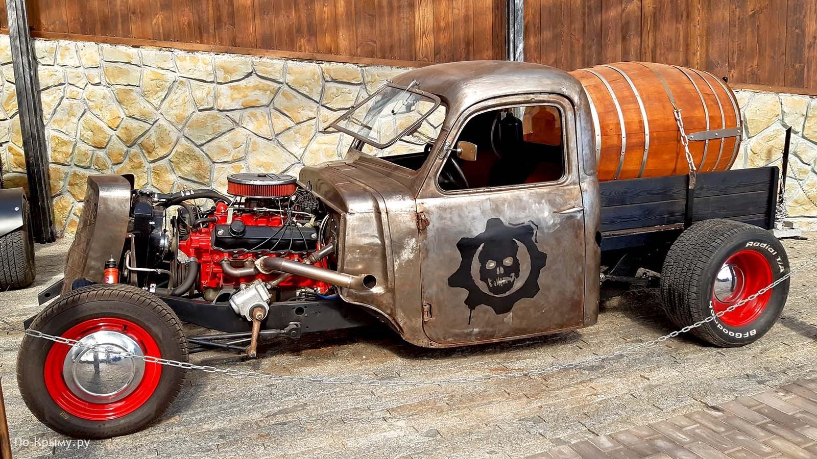 Уникальный ялтинский музей автомобилей, Крым