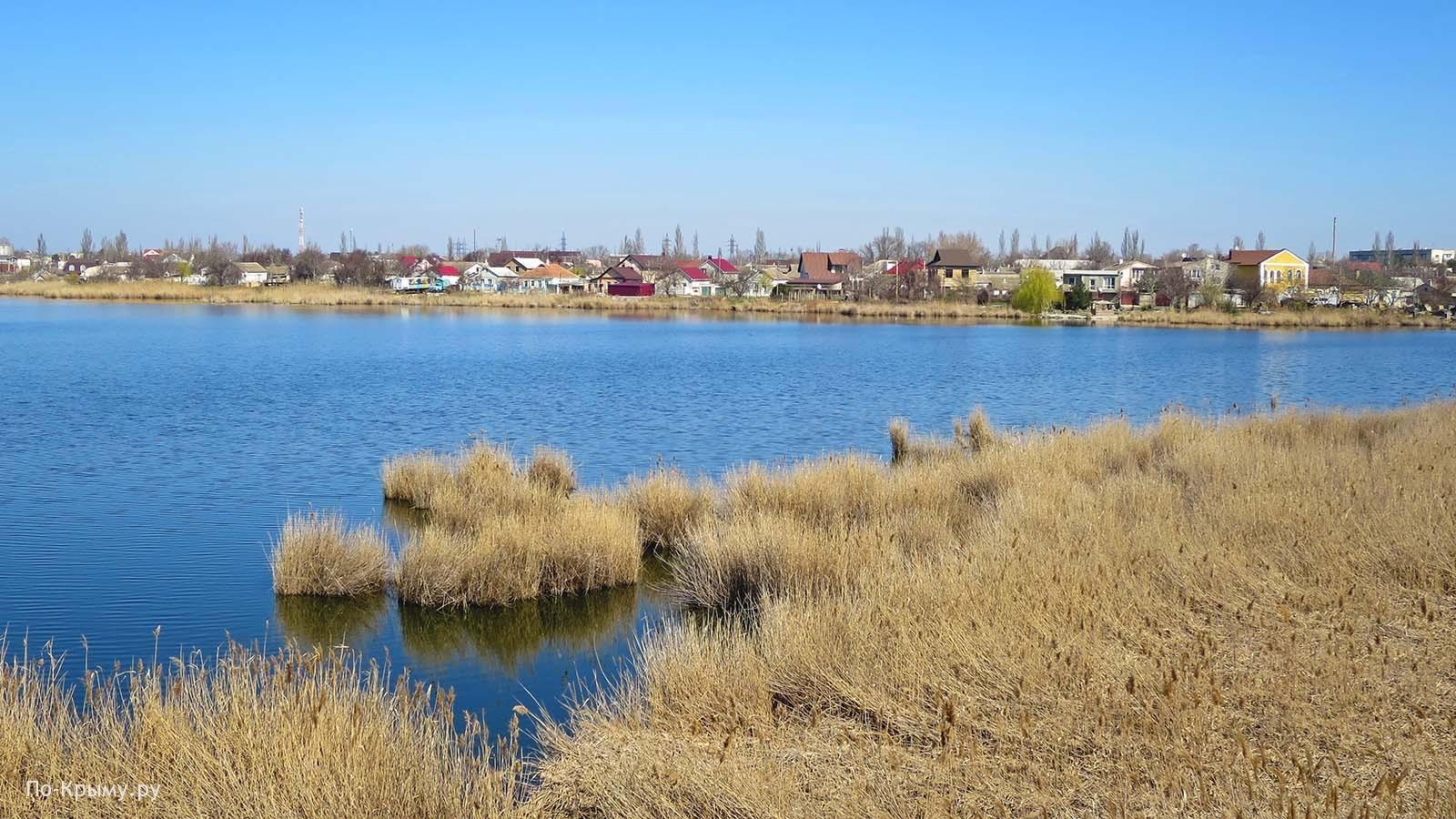 Озеро Тобе-Чокрак, Саки, Крым
