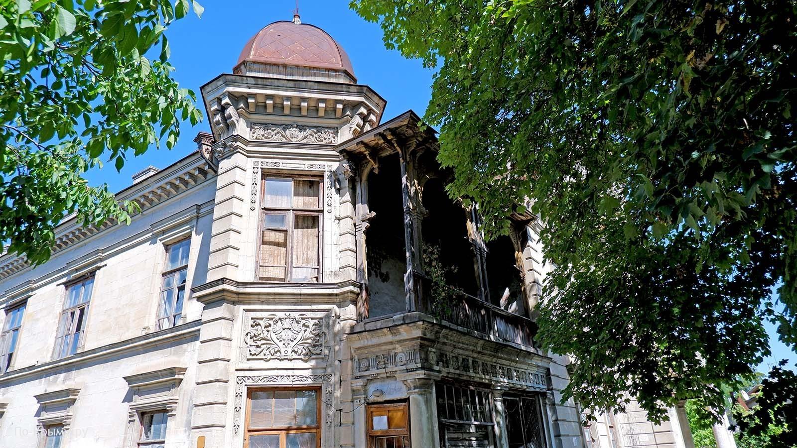 Дом купца Дмитрия Пачаджи в Эски-Юрте