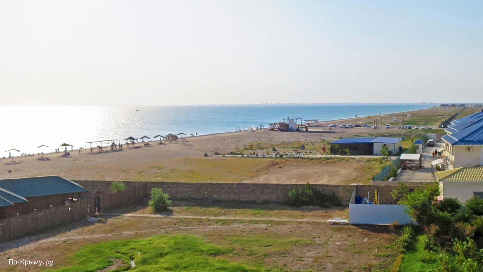 Пляж Виктория, аквапарк Медуза, Евпатория