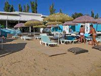 Обустроенный пляж Евпатории