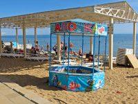 Детский пляж в Евпатории